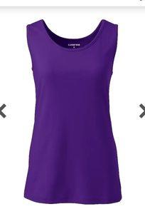 🦑 NWT 🦑 Land's End Purple Jewel Tank Top 🦑